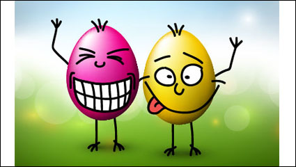 Link toFunny eggs 02 - vector material