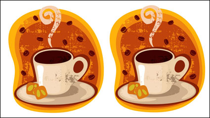 Link toCartoon coffee cup mount 03 - vector material