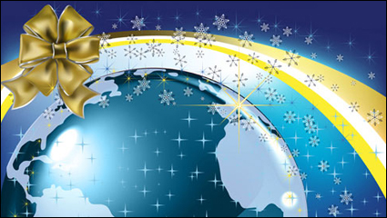 Link toChristmas background 02 - vector material