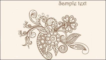 Link toFine line art pattern 03 - vector material