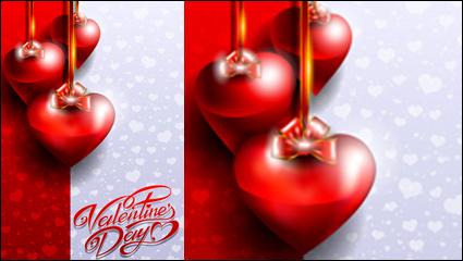 Link toFancy valentine card 03 - vector material