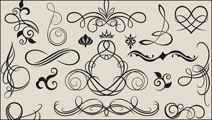 Link toLines lace 02 - vector material