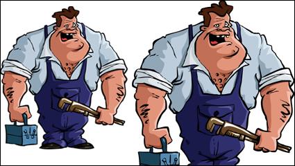 Link toCartoon character illustrator 09 - vector material