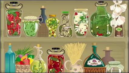 Link toCartoon window shop 04 - vector material