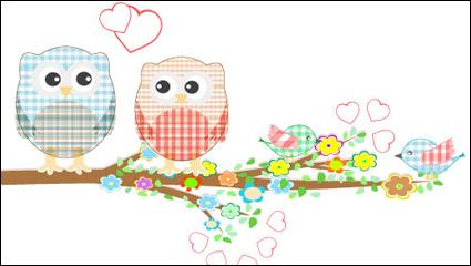 Link toCute cartoon illustrator 03 - vector material