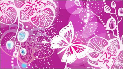 Link toGorgeous pattern background 01 - vector material