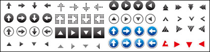 Link toArrow icon vector material useful