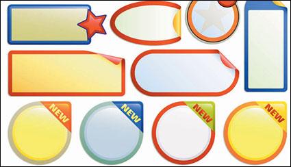 Link toBulletin board decorating icon vector material