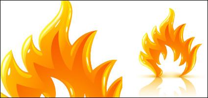 Link toThree-dimensional flame vector material