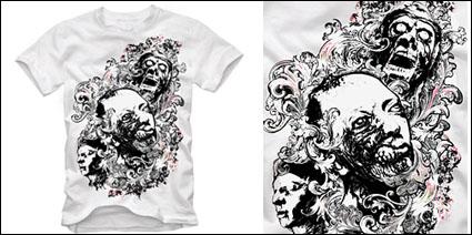 Link toT-shirt design vector material