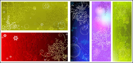 Link toEmbossed flower pattern background background