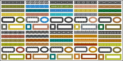 Link toVariety of classical material lace series vector-1