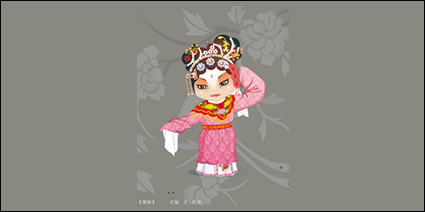 Link toQ version of peking opera characters-3