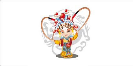 Link toQ version of peking opera characters-4