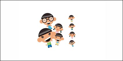 Link toVector characters children material