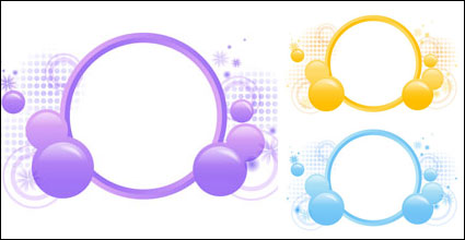 Link toFlowers vector ball material