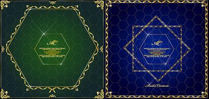 Link toHoneycomb, diamond lace border vector