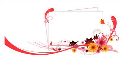 Link toBirds, leaves, butterflies vector