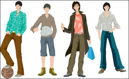 Link toBoys fashion vector