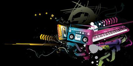 Link toTapes, tape recorders, radios, keyboard, microphone