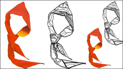 Link toYoung pioneers logo - a red scarf vector material