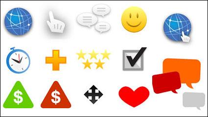 Link toWeb design and decoration icon vector