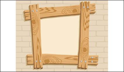 Link toWooden frame vector