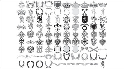 Link toAnchors, horned horses, wheat, lion, double-headed eagle, olive branch, zebra