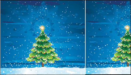 Link toSnow tree vector material