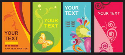 Link toThe trend of card template vector