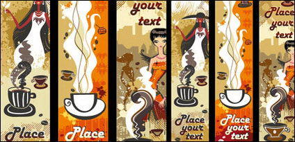 Link toWomen and coffee vector