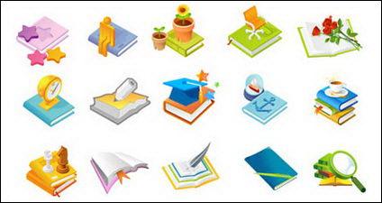 Link toQuill pen, cup, cap, dr. vector material