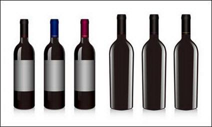 Link toRed wine bottles