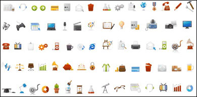 Link toSimple and practical web icons vector