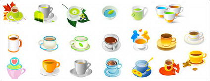 Link toPlants, tea and coffee vector