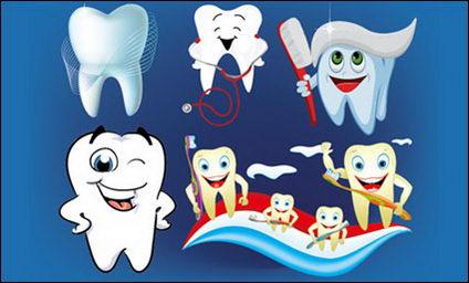 Link toVector illustration dental care
