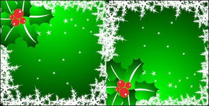 Link toSnowflakes, stars, pine needles vector