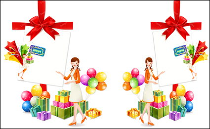 Link toGifts, bow, balloon