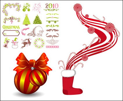 Link to2010 pattern, bells,, crutches, wings vector