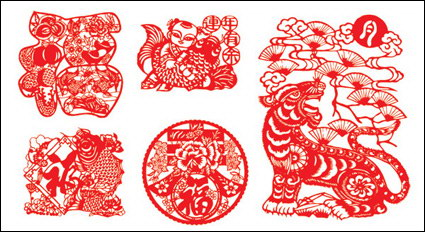 Link toPaper-cut chinese new year
