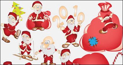 Link toLovely santa claus vector