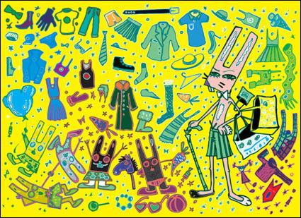 Link toTie, shoes, belts, high heels, coat hangers
