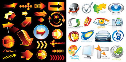 Link toPuzzles, glasses, digital cameras, cars, brush, leaves