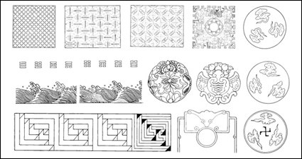 Link toPatterns, wave, waves, clouds vector
