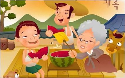 Link toIclickart cartoon family illustrator vector material -2