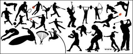 Link toHigh jump, soccer, basketball, tennis, baseball, diving, parachuting, weightlifting, skating