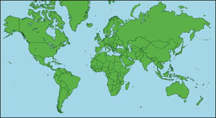 Link toMap of the world vector