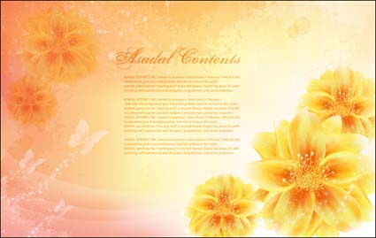 Link toVector fantasy flower material -14
