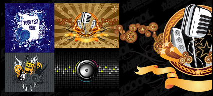 Link toVector illustrations theme music material