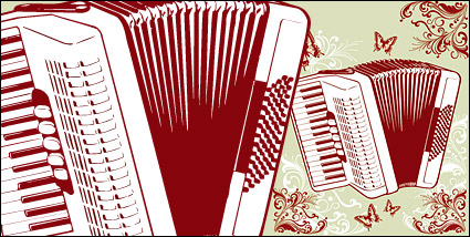 Link toAccordion and the pattern vector material